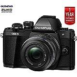 Olympus OM-D E-M10 Mk II Mirrorless Digital Camera w/ 14-42mm IIR Lens + 1 Year Extended Warranty (Certified Refurbish)