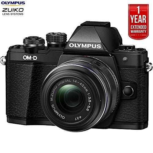 Olympus OM-D E-M10 Mark II Mirrorless Digital Camera w/ 14-4
