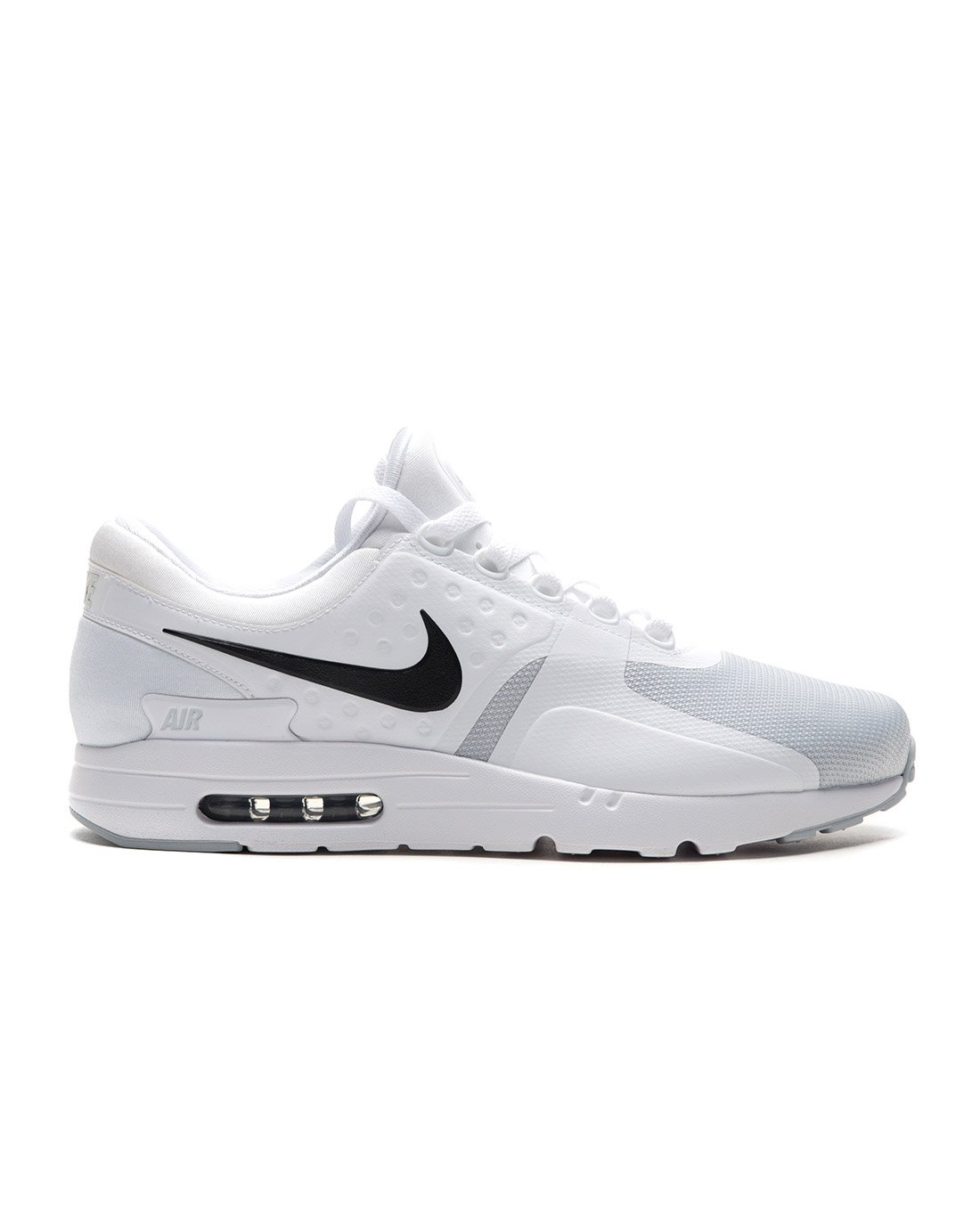 best service f01e3 f2a8e Galleon - NIKE Air Max Zero Essential Mens Running Trainers 876070 Sneakers  Shoes (UK 8 US 9 EU 42.5, White Black Cool Grey 105)