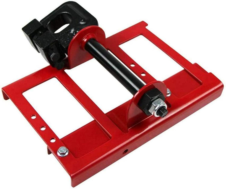 Barra de guía de corte de madera para molino de motosierra portátil, accesorios de motosierra Barra de herramientas de acero para constructores Carpinteros con un juego de herramientas de ensamblaje