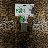 Priscilla's Pet Products Designer Faux Fur Cat Blanket 18 x 18 with Built in Corner Pocket for Catnip