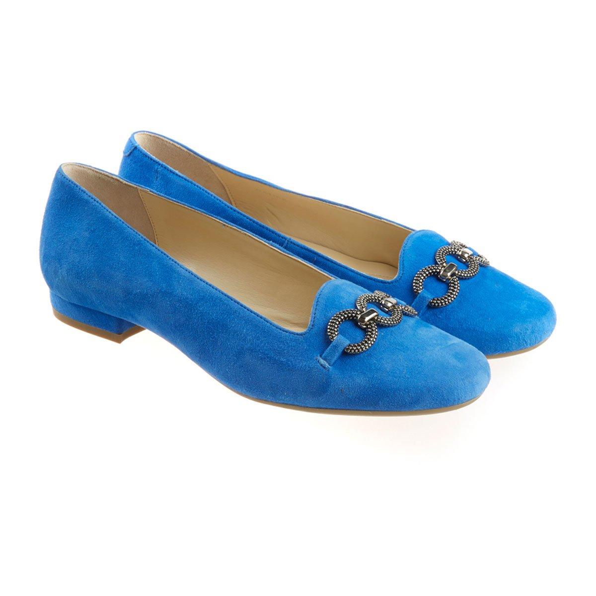 Van Dal Natick Damen Mokassins Mokassins Mokassins Blau Kobaltblau bc32c6