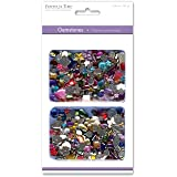 Forever in Time SE060 Gemstone Embellishments, Assorted Shapes, Colors and Sizes, 30gm