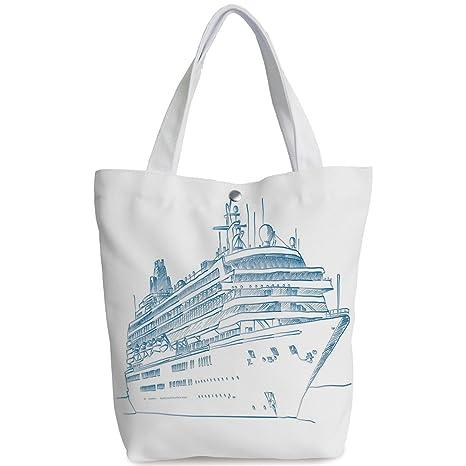 92786344e418 Amazon.com  iPrint Canvas Shopping bag