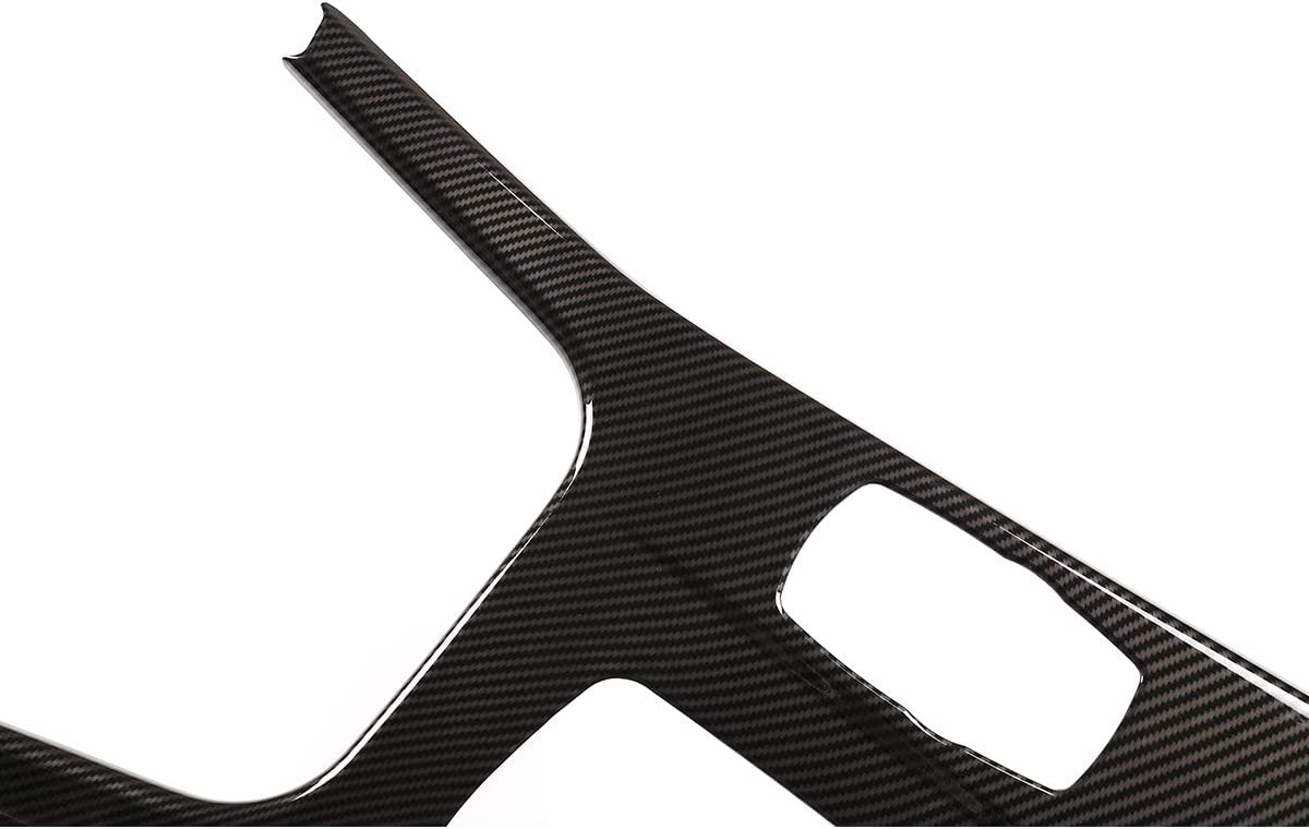 YIWANG Carbon Fiber Style ABS Car Center Console Protection Panel Cover Trim For X3 X4 F25 F26 2013-2017 Left Hand Drive Auto Zubeh/ör