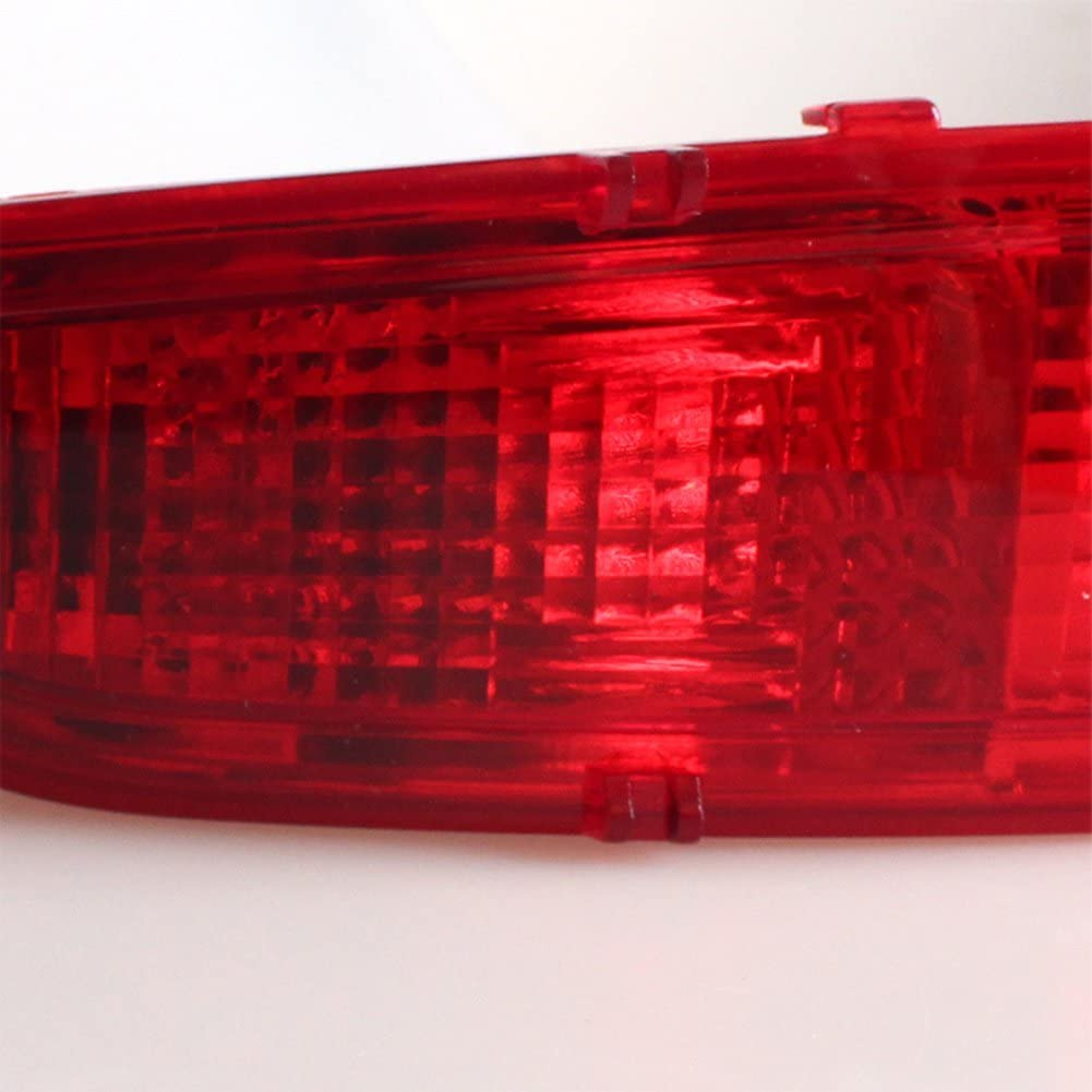MZORANGE LED Rear Bumper Reflector Brake Light For Fiesta 2009 2010 2011 2012 2013 2014 Car-styling Stop Tail Signal Lamp Hatchback Left with light