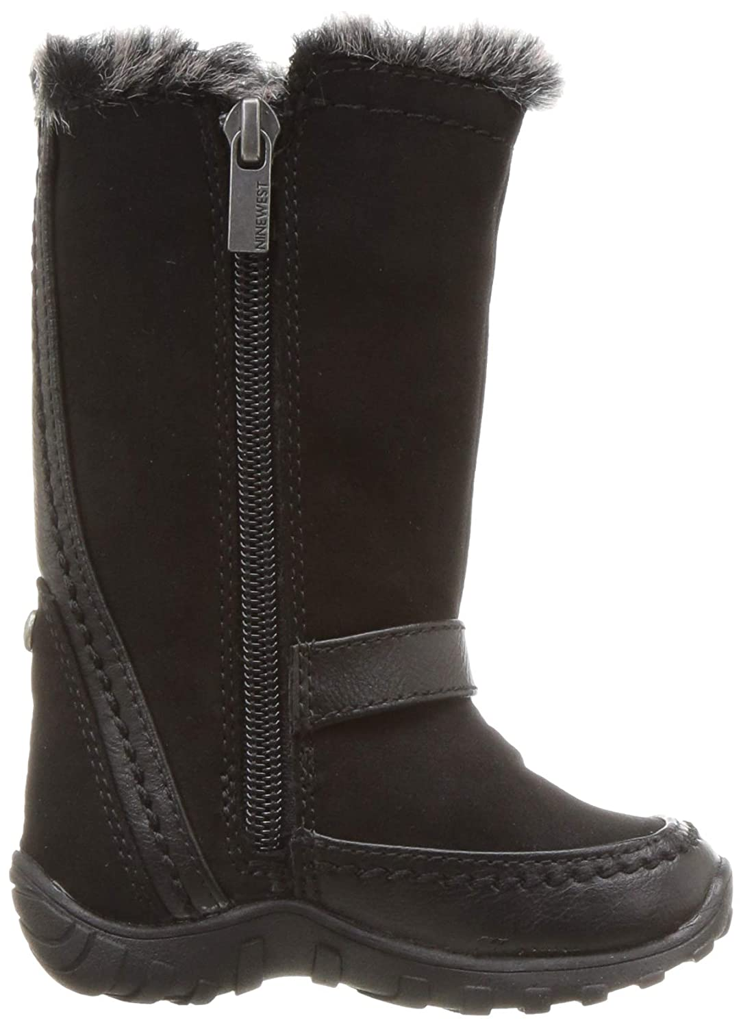 M090 M US Toddler Black Nine West Girls NAYDINE Snow Boot