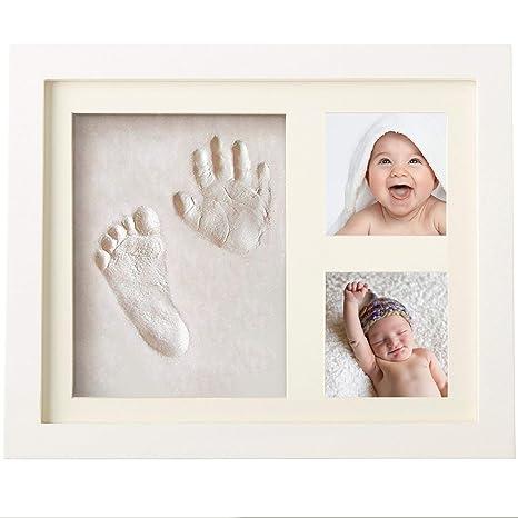 Marco fotos bebe - Regalo para recién nacido - Marco huellas bebe ...
