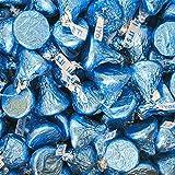 Its A Boy Blue Hersheys Kisses - 2 lb Resealable Bag