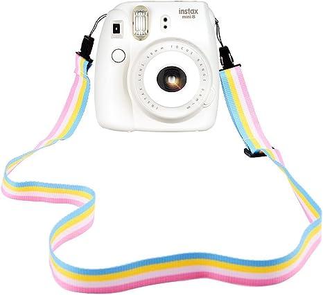 Light Blue Candy Gloss Camera Case for Digital Cameras and Tripod