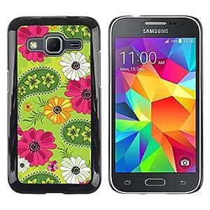 - Sun Flowers Pattern - - Fashion Dream Catcher Design Hard Plastic Protective Case Cover FOR Samsung Galaxy Core Prime Retro Candy