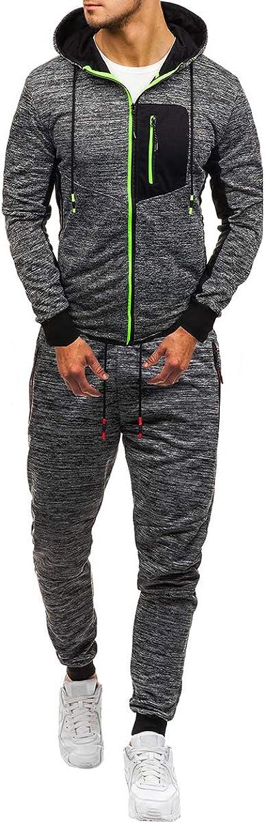 Boyland Mens Tracksuit Hoodies Jacket Slim Fit Pants Athletic Jogging Gym Hiking