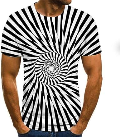 Mr.BaoLong&Miss.GO Hombres Nueva Camiseta Personalizada Camisetas De Impresión 3D Tops Deportivos Casuales Y Cómodos Hombres Camisetas De Manga Corta ...