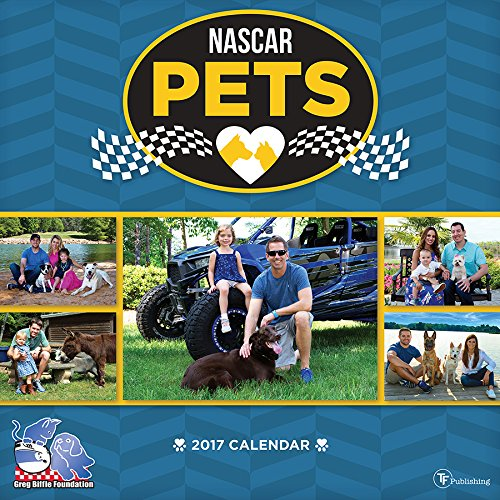 2017 Calendars TF Publishing Wall Calendar, Nascar Pets
