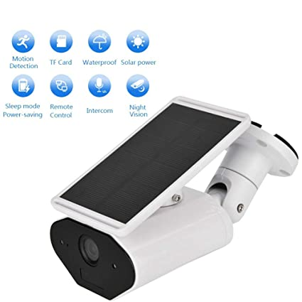 Cámara IP, 960P HD Funciona con energía Solar cámara de Seguridad inalámbrica para Exteriores,