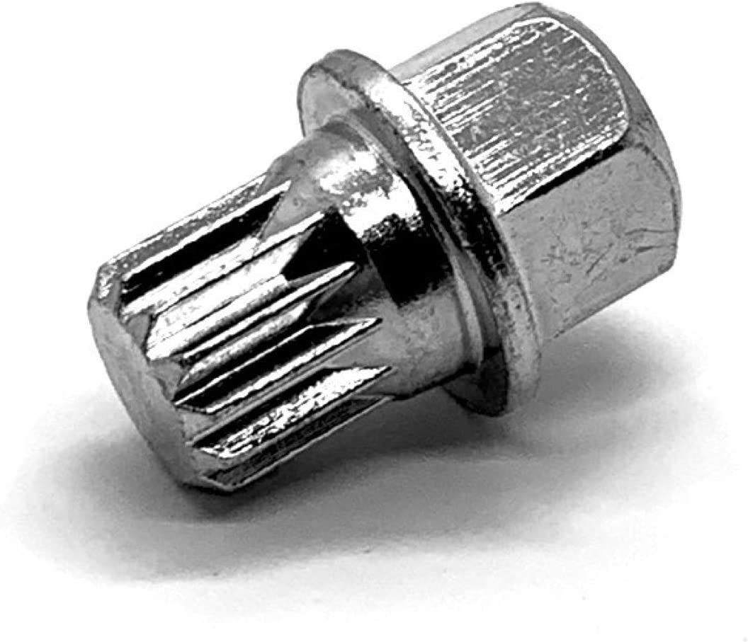 TEKKEY Wheel Lock Key for Volkswagen - Compatible with Jetta//Passat//Golf//Rabbit//GTI and More VW ABC9 with 21 Teeth