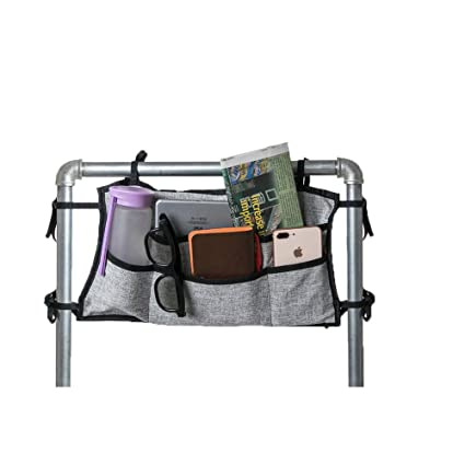 Mutli-Functional Bolsa de almacenamiento para silla de ruedas, bolsa de accesorios para silla