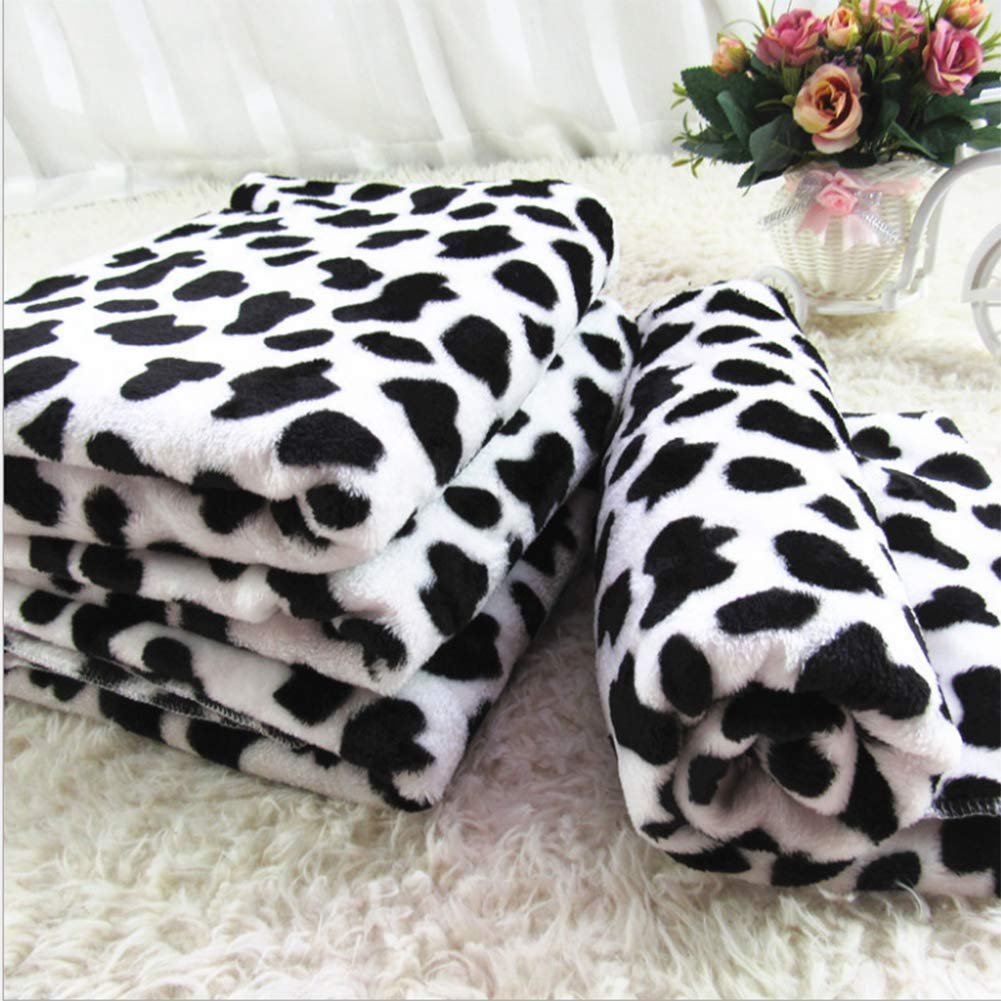 80CM60CM Pet Blankets, Dog Blankets, Super Soft Warm Coral Velvet Kennel Mats, Cats and Dogs Blankets