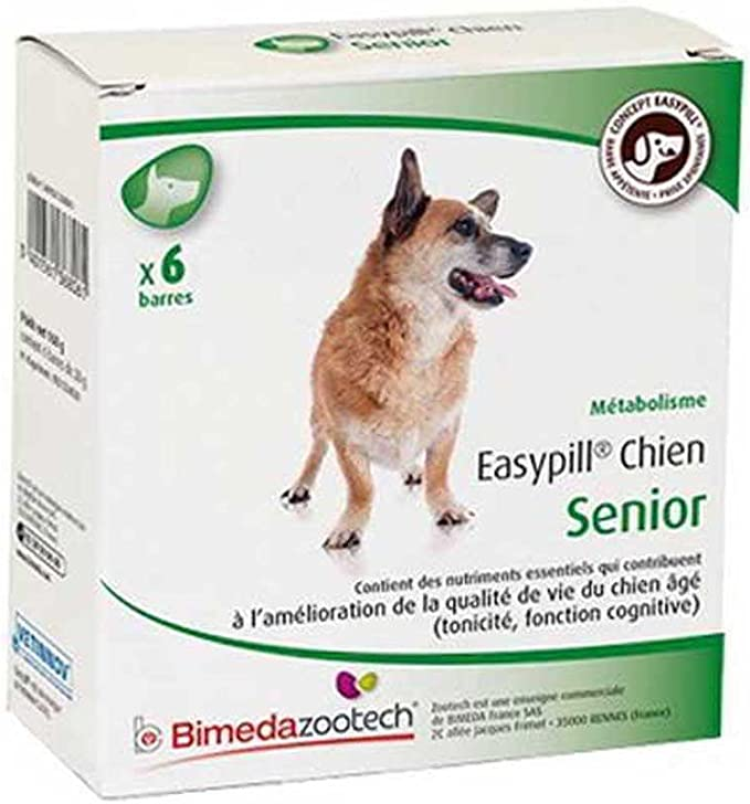 Easypill perro senior 6 x 28 grs