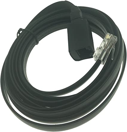 for Motorola Mobile Radio 18/' Foot 8 Pin Mic Microphone Extension Cable Cord