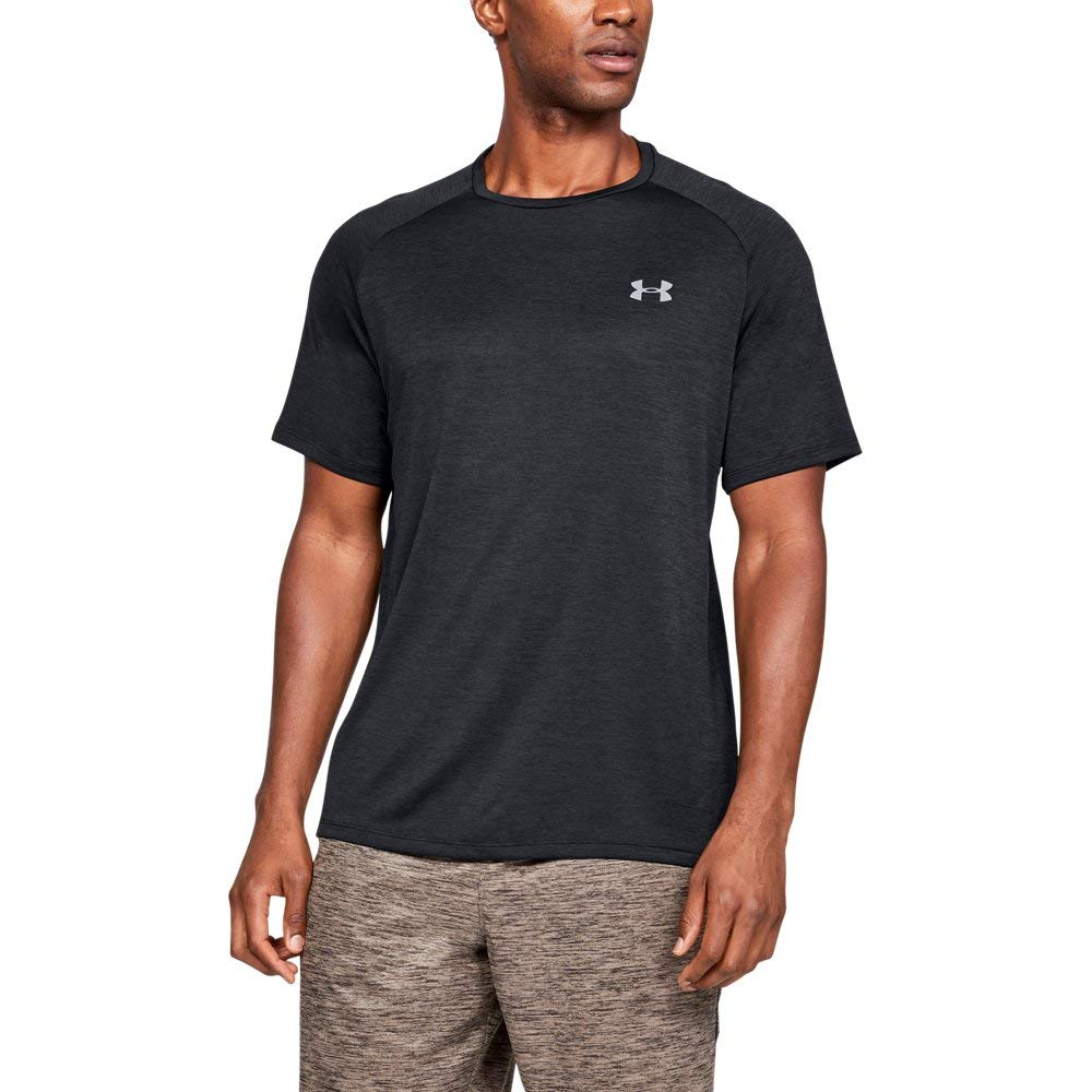 Under Armour mens Tech 2.0 Short Sleeve T-Shirt, Black (003)/Jet Gray, 3X-Large by Under Armour