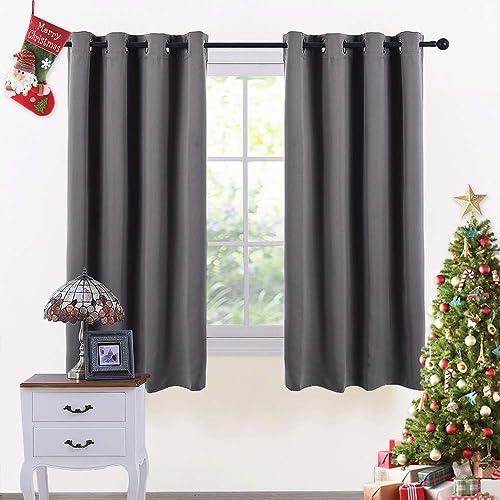 Grey And Black Curtains: Amazon.co.uk