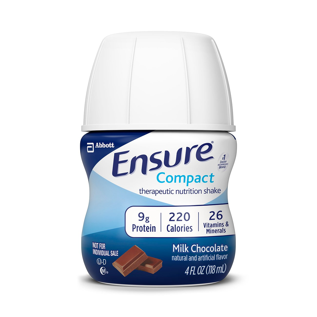 Ensure Compact Nutrition Shake, Chocolate, 4 ounces, 16 count