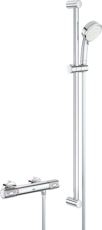 Grohe Grohtherm 1000 Performance Grifo mezclador termost/ático exterior para ba/ñera