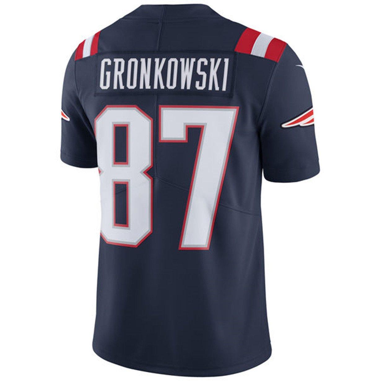 the latest e06f7 50494 Amazon.com: NIKE #87 New England Patriots Rob Gronkowski ...
