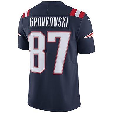 the latest 3606b 80966 Amazon.com: NIKE #87 New England Patriots Rob Gronkowski ...