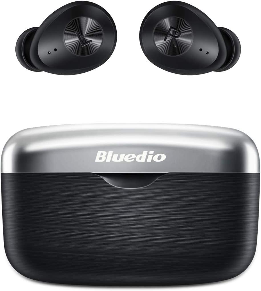 Auriculares Bluetooth, Bluedio Fi(Faith) Auriculares Inalámbricos In-Ear con Sonido Estéreo AptX, Graves Profundos HD, CVC 8.0 Reducción de Ruido, Control Táctil, Bluetooth 5.0 para iPhone y Android