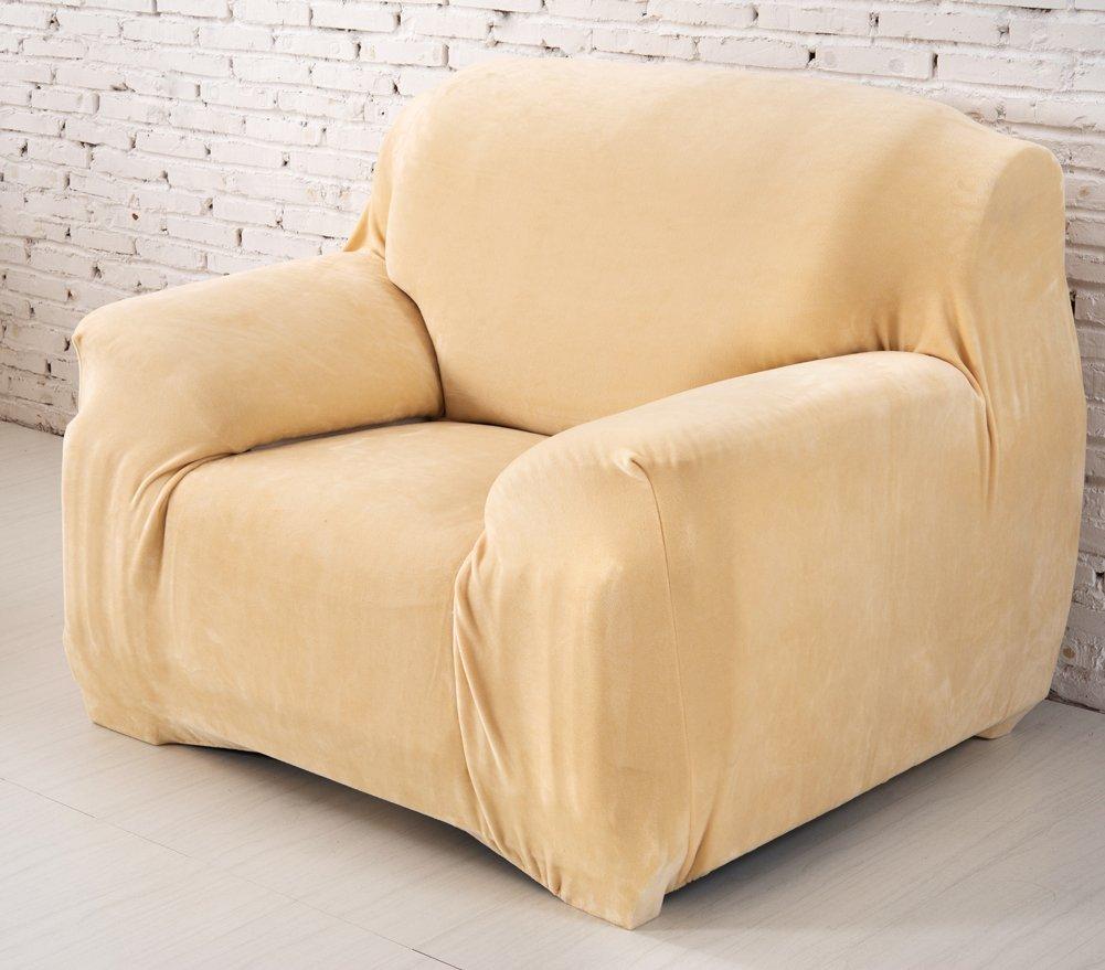 Dicke Sofaüberzüge,Sofa Überwürfe 1 2 3 3 3 4-Sitz-Überwurf, Sofa Schutzüberzug aus SAMT. einfache Passform, Stretch-Material,Weinrot-3 Sitzer 190-230cm B07J33QRG7 Sofa-überwürfe 55214d