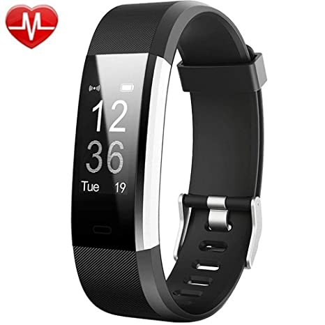 Willful Fitness Armband mit Pulsmesser,Wasserdicht IP67 Fitness Tracker Aktivitätstracker Pulsuhren Smartwatch Schrittzähler