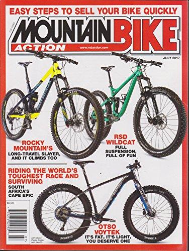 - Mountain Bike Action Magazine July 2017