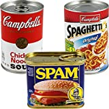BigMouth Inc (Set) Spam, Campbell's, Spaghettios Cans Secret Safes Hide Your Valuables