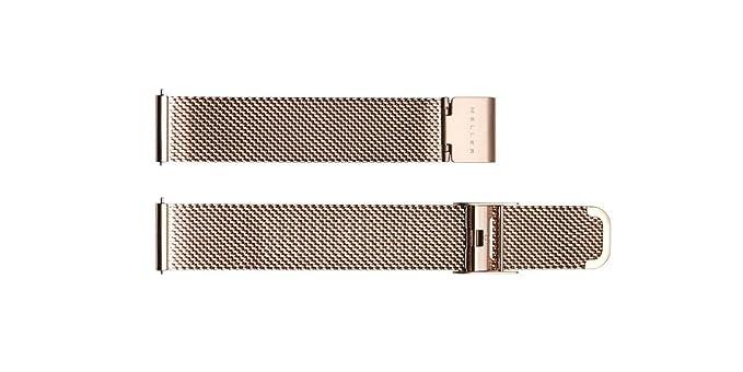 Meller Golden Strap - Rosa de Oro - unisex correa de reloj del metal: Amazon.es: Relojes