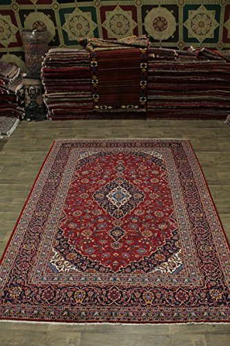 - Nice Traditional S Antique Handmade Kashan Persian Style Area Rug Oriental Carpet 8X12