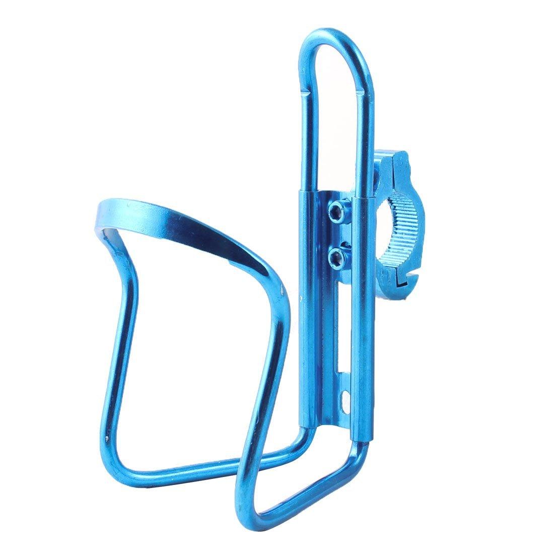 Bicicleta de la bici del manillar de aluminio de agua Jaulas sostenedor de la botella del azul real