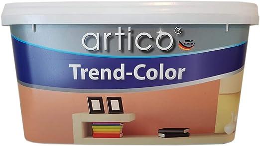 Artico Trend Color Peinture Murale Noir Nuit Mat 5 L