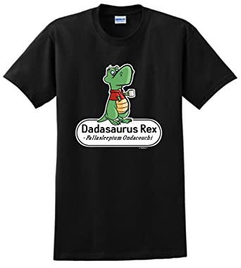 amazon com thiswear gifts for dad dadasaurus rex with scientific