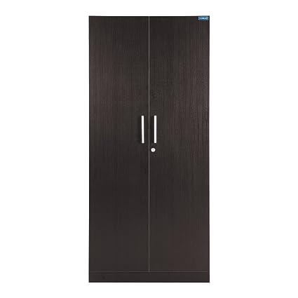 Spacewood Optima 2 Door Wardrobe (Natural Wenge)