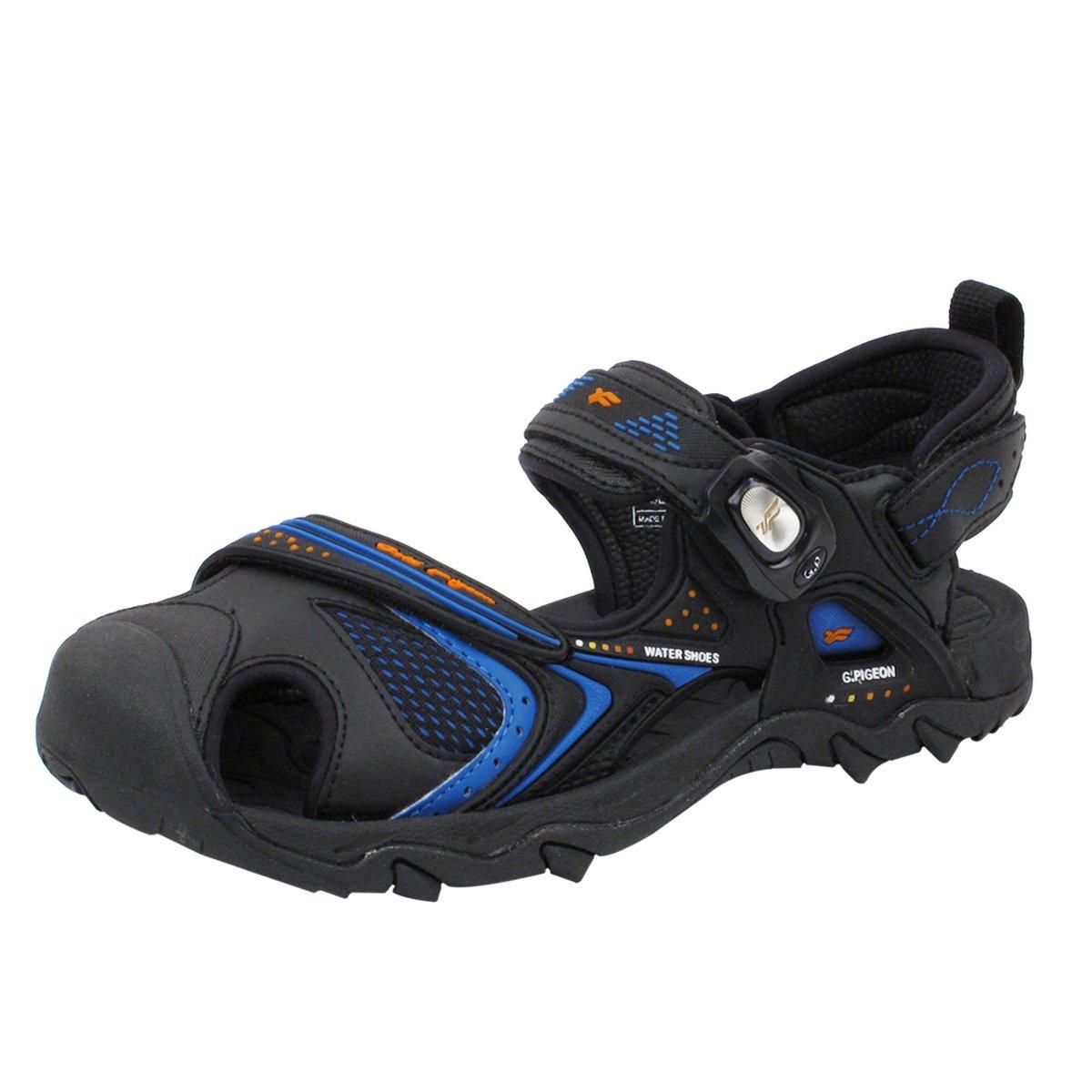 Gold Pigeon Shoes GP5937 Easy Snap Lock Closure Sports/Water Sandals for Men & Women B01BRT03R2 EU36: Women 6/6.5 & Kids 5/5.5|5937 Black Blue