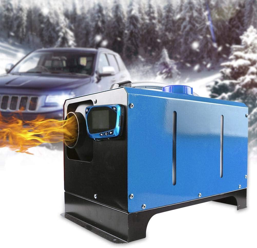 Calentador de estacionamiento de aire diesel de 5KW, máquina de calentamiento de combustible de un orificio de 12/24 V para descongelación interior del automóvil, descongelación de niebla de vidrio