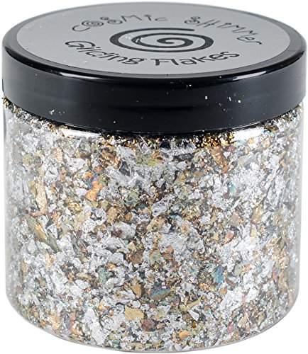 Creative Expressions CSGF-SILVD Cosmic Shimmer Gilding Flakes 200ml, Silver Dream from Creative Expressions