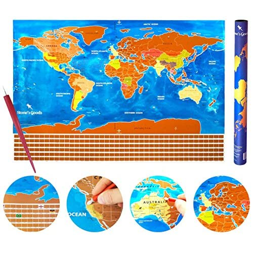 Scratch off world map poster us states country flags scratch off world map poster us states country flags scratchable map tool gumiabroncs Image collections