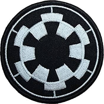 star wars imperial forces cusson brod badge patch 89 cm coudre ou thermocollant