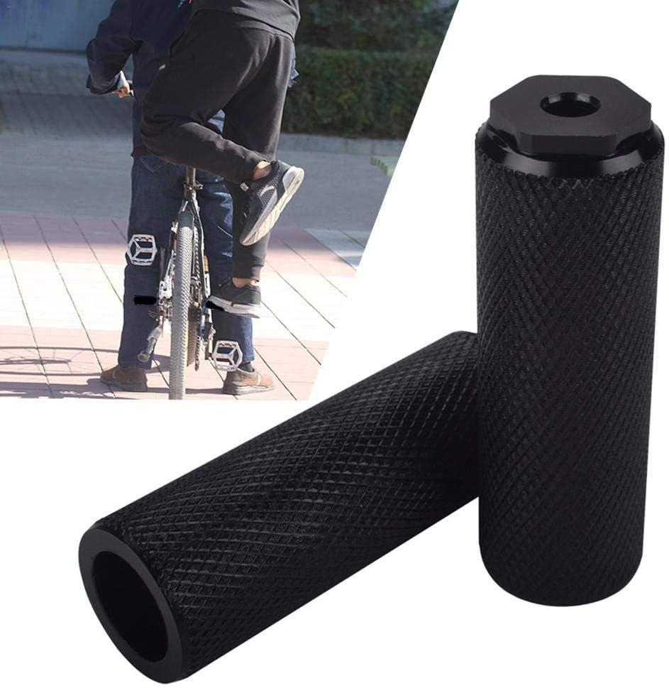 Childlike Pegs De Apoyo para MTB Bicicletas Antideslizante General Paquete De Cohete De Pedal Trasero De Bicicleta De Monta/ña