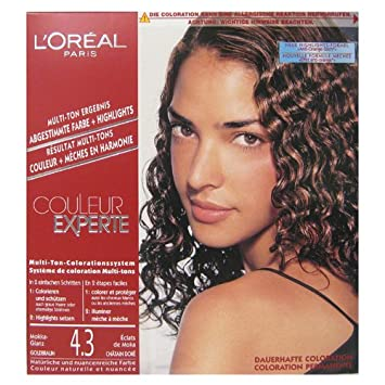 loral coloration multi tons clats de moka chtain dor couleur experte - Coloration Moka