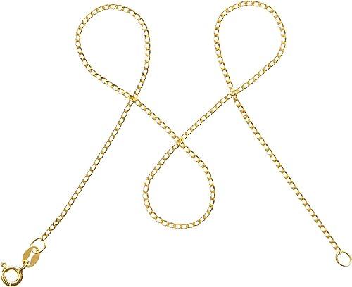 modabilé Panzerkette Damen Halskette Vergoldet aus 925er