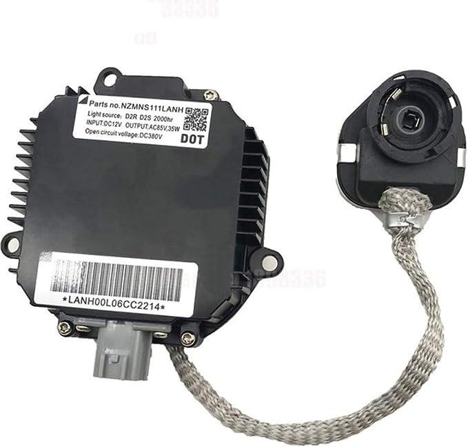Jjzxzq Hid Xenon Scheinwerfer Ballast Control Unit Modul D2s D2r Nzmic11lbca000 Nzmns111lbna Nzmns111lana Black1 Küche Haushalt